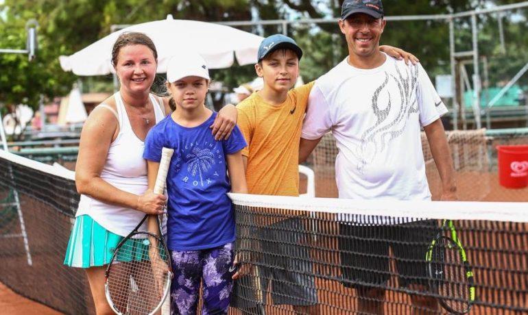 Открытие нового клуба по большому теннису в СВАО